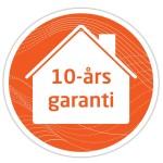 10-års garanti